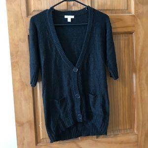 Delia's long short sleeve cardigan super soft